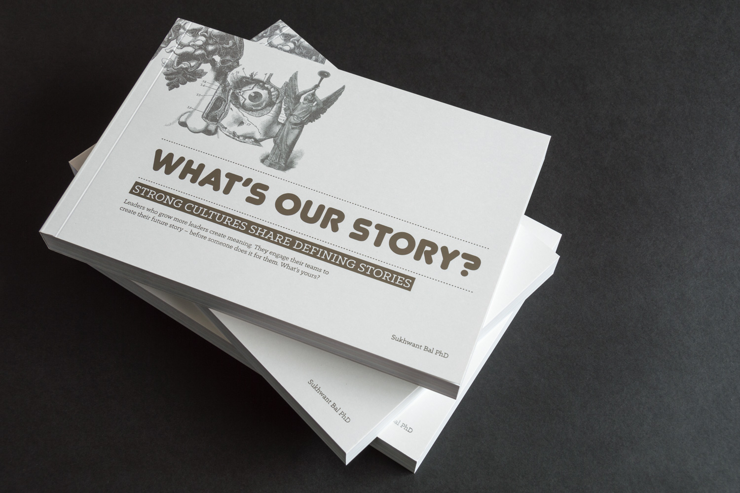 what's our story brochure cover